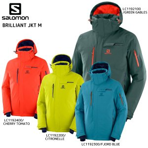 19-20 SALOMON(サロモン)【早期予約品/ウェア】 BRILLIANT JKT M(ブリリアントジャケットメンズ)【スキージャケット】|linkfast