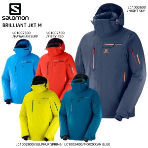 18-19 SALOMON(サロモン)【在庫処分品/ウェア】 BRILLIANT JKT M(ブリリアントジャケットメンズ)【スキージャケット】|linkfast