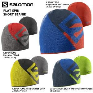 16-17 SALOMON(サロモン)【在庫処分/ニット帽】 FLAT SPIN SHORT BEANIE (フラットスピン ショートビーニー)|linkfast