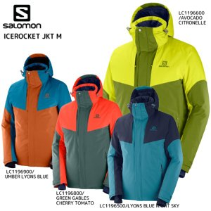 19-20 SALOMON(サロモン)【早期予約品/ウェア】 ICEROCKET JKT M(アイスロケットジャケットメンズ)【スキージャケット】 linkfast