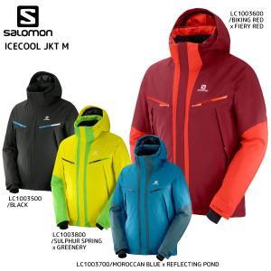 18-19 SALOMON(サロモン)【在庫処分品/ウェア】 ICECOOL JKT M(アイスクールジャケットメンズ)【スキージャケット】|linkfast