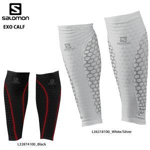 SALOMON(サロモン)【在庫処分/着圧カーフタイツ】 EXO CALF(エクゾカーフ)【ランニングタイツ】|linkfast