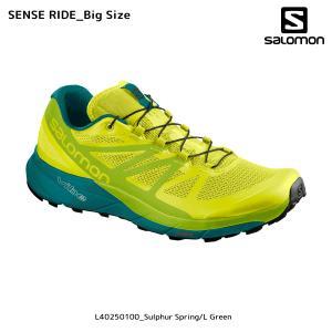SALOMON(サロモン)【在庫処分/トレランシューズ】 SENSE RIDE Big Size (センスライド ビッグサイズ)【トレイルランニング】|linkfast