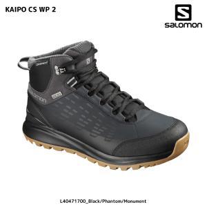 SALOMON(サロモン)【2018/ウィンターシューズ】 KAIPO CSWP 2 (カイポ CS ウォータープルーフ2)【スノーシューズ】|linkfast