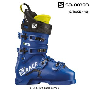 19-20 SALOMON(サロモン)【スキー靴/数量限定】 S/RACE 110(S/レース 110)L40547100【スキーブーツ】|linkfast
