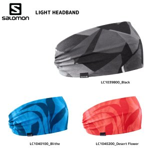 SALOMON(サロモン)【2019/ヘッドバンドウェア】 LIGHT HEADBAND(ライトヘッドバンド)【ヘッドウェア】|linkfast
