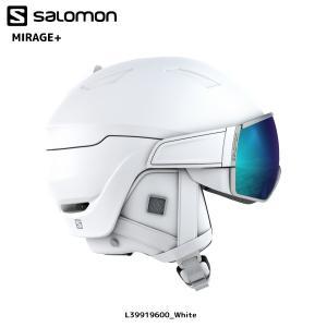 18-19 SALOMON(サロモン)【Helmet/数量限定】 MIRAGE+ Women (ミラージュプラス ウィメンズ)【スノーヘルメット/レディス】|linkfast