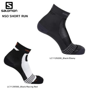 SALOMON(サロモン)【2019/限定高機能ソックス】 NSO SHORT RUN(NSO ショートラン)【スポーツソックス】|linkfast