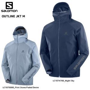 SALOMON(サロモン)【2019/トレイルジャケット】OUTLINE JKT M(アウトラインジャケット メンズ)【アウトドア/ハイキング】|linkfast