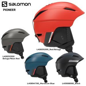19-20 SALOMON(サロモン)【予約商品/Helmet】 PIONEER(パイオニア)【スノーヘルメット】|linkfast