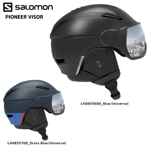 19-20 SALOMON(サロモン)【予約商品/Helmet】 PIONEER VISOR(パイオニア バイザー)【スノーヘルメット】|linkfast