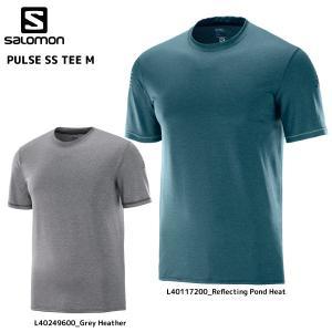 SALOMON(サロモン)【在庫処分品/スポーツシャツ】PULSE SS TEE M(パルス ショートスリーブティー メンズ)【アウトドアTシャツ】|linkfast