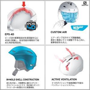 16-17 SALOMON(サロモン)【在庫処分/Helmet】 RANGER2 C. AIR (レンジャー2 カスタムエアー)|linkfast|02