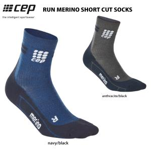 CEP (シーイーピー)【ランニング/コンプレッション】 RUN MERINO SHORT CUT SOCKS (ランメリノ ショートカットソックス)|linkfast