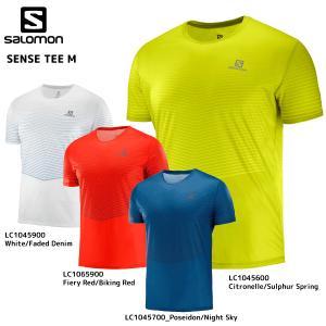 SALOMON(サロモン)【2019/トレイルランシャツ】SENSE TEE M(センスティー メンズ)【ランニングTシャツ】|linkfast