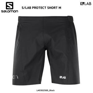 SALOMON(サロモン)【2018/トレイルランパンツ】S/LAB PROTECT SHORT M(S-LAB プロテクトショート メンズ)【ランニングパンツ】|linkfast