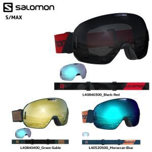 18-19 SALOMON(サロモン)【ゴーグル/数量限定】 S/MAX(エスマックス) 球面レンズ【スノーゴーグル】|linkfast