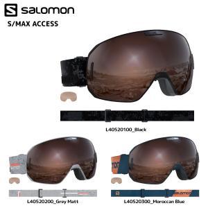 18-19 SALOMON(サロモン)【ゴーグル/数量限定】 S/MAX ACCESS(エスマックスアクセス) 球面レンズ【スノーゴーグル】|linkfast