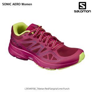 SALOMON(サロモン)【在庫処分/ロードランニング】 SONIC AERO Women(ソニックエアロ ウィメンズ)【ランニングシューズ】|linkfast