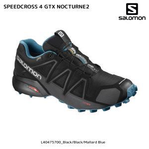 SALOMON(サロモン)【2018/トレイルランニング】 SPEEDCROSS 4 GTX NOCTURNE 2(スピードクロス4 GTXノクターン2)【トレイルランニング】|linkfast
