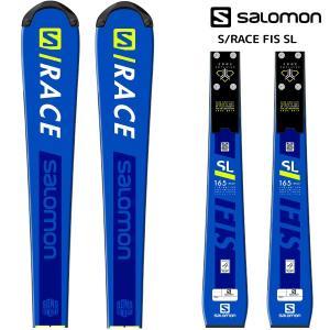19-20 SALOMON(サロモン)【早期予約/スキー板】 S/RACE FIS SL + X12 LAB(エスレースFIS エスエル金具付)【金具取付無料】|linkfast