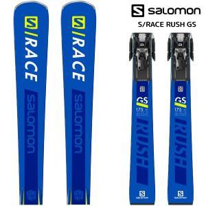 19-20 SALOMON(サロモン)【早期予約/スキー板】 S/RACE RUSH GS + X12TL GW(エスレースラッシュGS 金具付)【金具取付無料】|linkfast