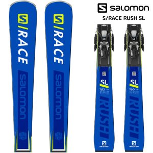 19-20 SALOMON(サロモン)【早期予約/スキー板】 S/RACE RUSH SL + X12TL GW(エスレースラッシュSL 金具付)【金具取付無料】|linkfast
