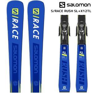 18-19 SALOMON(サロモン)【在庫処分/スキー板】 S/RACE RUSH SL + X12TL(エスレースラッシュSL 金具付)【金具取付無料】|linkfast