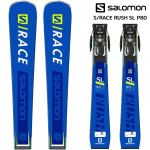 19-20 SALOMON(サロモン)【早期予約/スキー板】 S/RACE RUSH SL P80 + X12LAB(エスレースラッシュSL P80 金具付)【金具取付無料】|linkfast