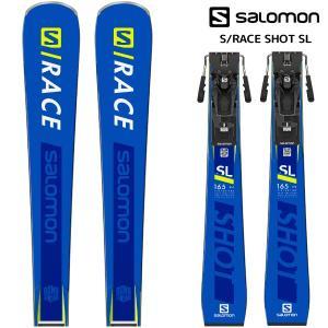 19-20 SALOMON(サロモン)【早期予約/スキー板】 S/RACE SHOT SL + Z12 GW(エスレースショットSL 金具付)【金具取付無料】|linkfast