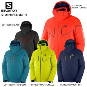 19-20 SALOMON(サロモン)【早期予約品/ウェア】 STORMRACE JKT M(ストームレースジャケットメンズ)【スキージャケット】|linkfast