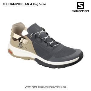 SALOMON(サロモン)【2019/サマーフットウェア】 TECHAMPHIBIAN 4 Big Size(テックアンフィビアン 4 ビッグサイズ)【サンダル/夏用シューズ】|linkfast