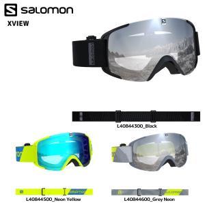 18-19 SALOMON(サロモン)【ゴーグル/数量限定】 X VIEW (X ビュー) 平面レンズ【スノーゴーグル】 linkfast