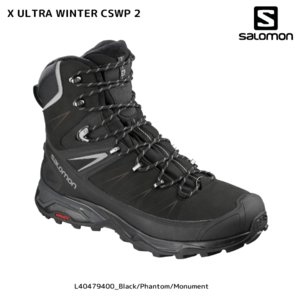 SALOMON(サロモン)【2018/ウィンターシューズ】X ULTRA WINTER CSWP 2(Xウルトラ ウィンターCSWP 2)【ウィンター/ハイキング】|linkfast