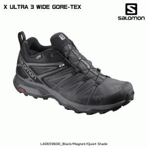SALOMON(サロモン)【2019/軽登山ゴアテックス】X ULTRA 3 WIDE GORE-TEX BigSize (Xウルトラ 3 ワイド GTX ビッグサイズ)【幅広/トレッキング/ハイキング】|linkfast