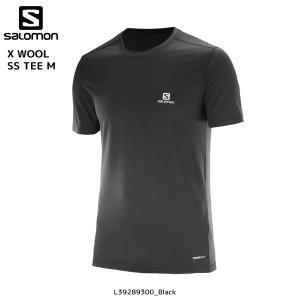 SALOMON(サロモン)【2017/アウトドアTシャツ】 X WOOL SS TEE M (Xウール ショートスリーブティー メンズ)|linkfast