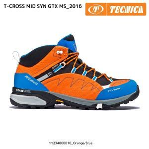 TECNICA(テクニカ)【在庫処分/トレイルシューズ】 T-CROSS MID SYNTHETIC GTX MS (T-CROSS ミッドシンセティック GTXメンズ) 11234800 linkfast