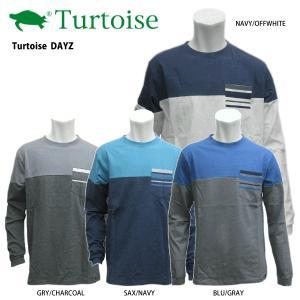 Turtoise (タータス) 【最終処分/Tシャツ/ロングスリーブ】 DAYZ (デイズ) 長袖Tシャツ|linkfast