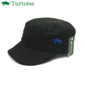Turtoise (タータス) 【帽子/ワークキャップ/秋冬アクセサリー】 ECHO (エコー) -ブラック-|linkfast