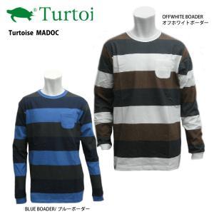 Turtoise (タータス) 【B級品/最終処分/ロングスリーブ】 MADOC (マドック) 長袖Tシャツ|linkfast