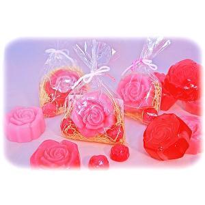 ローズソープセット ミニ薔薇2個入り|linkline