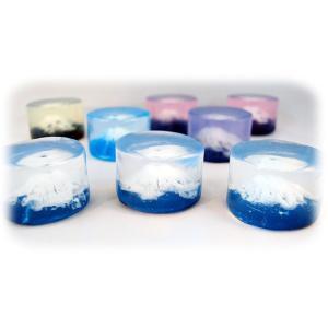 【色指定可能】 ●富士山をリアルに表現したアートソープです。 ●お土産・プレゼントに最適な富士山石鹸...