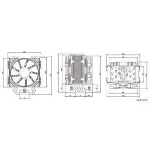 ENERMAX 1680万色アドレッサブルRGB LED搭載の空冷CPUクーラー TS-T50AXE ARGBシリーズ ETS-T50A-BK-ARGB ブラック linksdirect 07