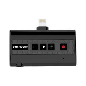 ■箱破損品(新品) ■PhotoFast iPhone X対応 電話とアプリ通話の録音に対応する外部ストレージ Call Recorder X|linksdirect