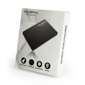 ■箱破損品(新品) ■COLORFUL SATA 6Gb/s(SATA3.0)インターフェース対応の2.5インチSSD SL500 320G 容量320GB|linksdirect