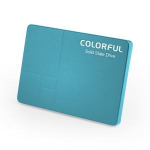 ■箱破損品(新品) ■COLORFUL SATA 6Gb/s(SATA3.0)インターフェース対応の2.5インチSSD SL500 640G BLUE Limited Edition ブルー|linksdirect