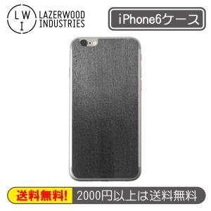 【 81%OFF!! 】Lazerwood MADE IN U.S.A. 木(wood)リアルウッドを採用したiPhone 6バックプレート B2000-PLAIN-BLACK ブラック|linksdirect