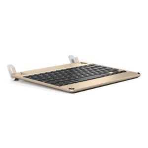 Brydge 9.7インチ用ハードケース一体型Bluetoothキーボード BRYDGE 9.7 Gold ゴールド BRY1013|linksdirect