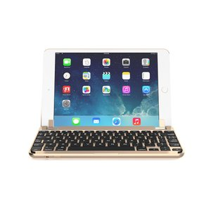 Brydge iPad mini 4対応 ハードケース一体型Bluetoothキーボード BRYDGE 7.9 Gold ゴールド BRY5103|linksdirect