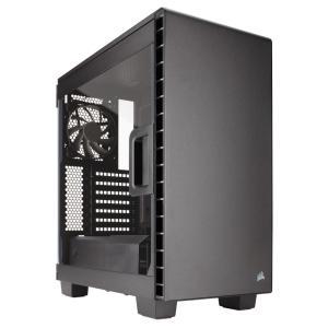 CORSAIR PCケース 優れた拡張性を誇るE-ATX対応ミドルタワーPCケース 400C CC-9011081-WW ブラック linksdirect